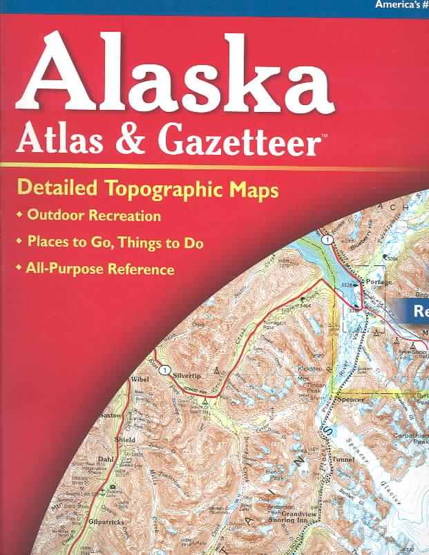 Alaska Atlas and Gazetteer By Delorme